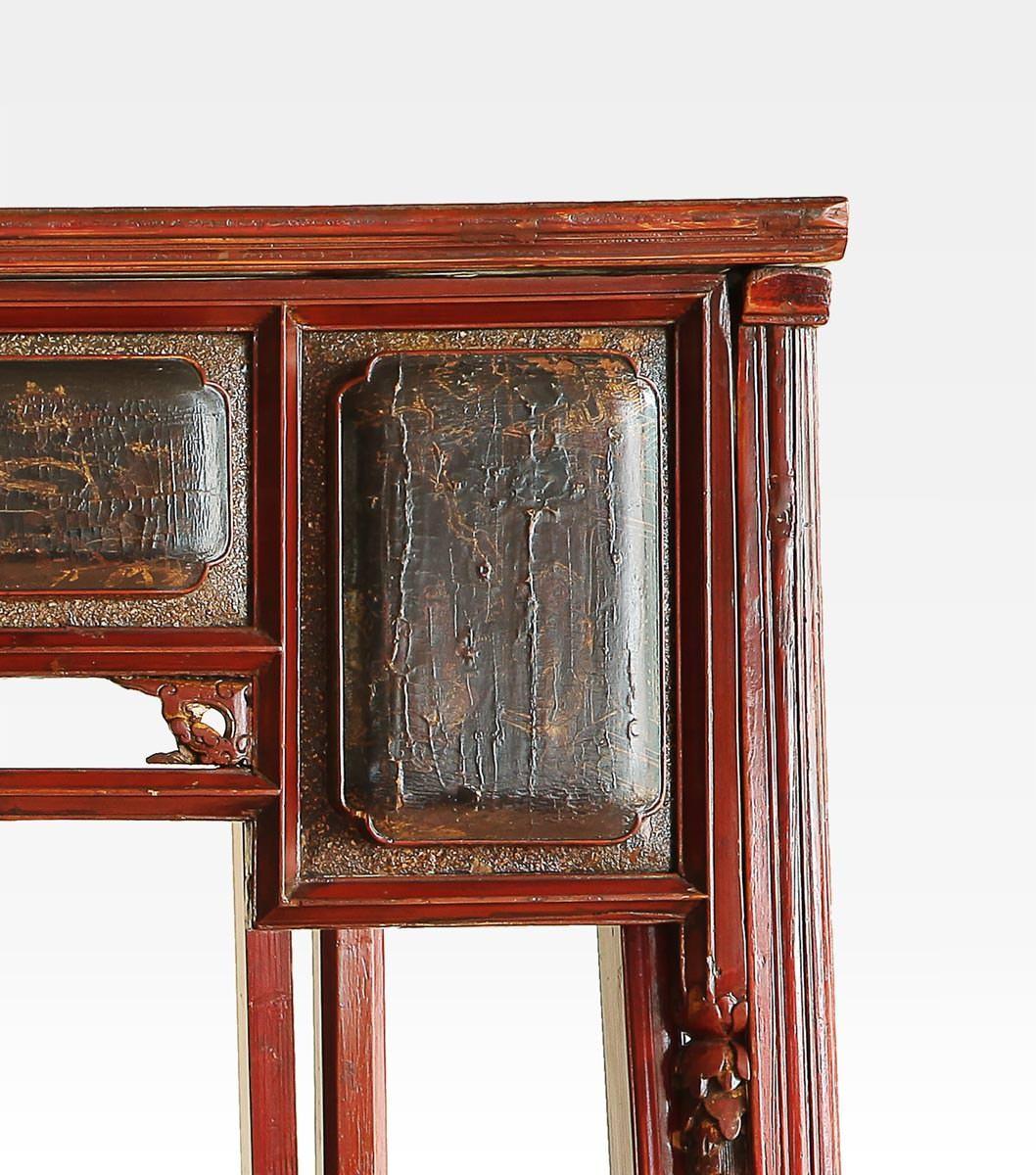 Letto a baldacchino antico classici mobili antichi - Letto a baldacchino antico ...
