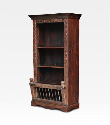 Libreria indiana in legno
