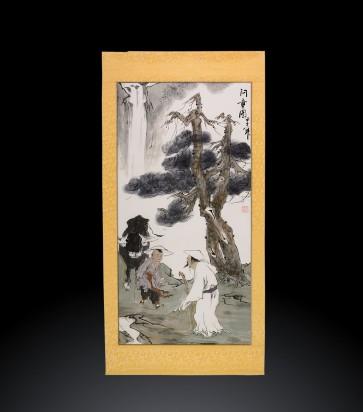 Dipinto contemporaneo cinese Scroll #1