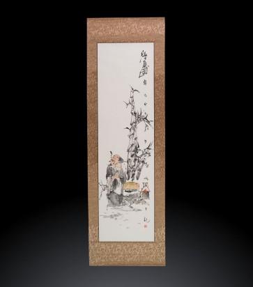 Scroll Dipinto contemporaneo cinese