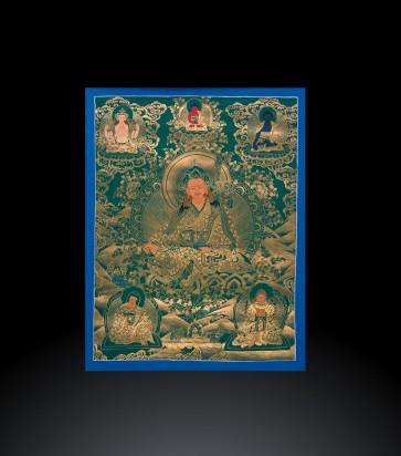 TangKa tibetano raffigurante Padmasambava