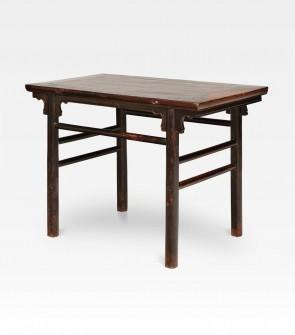 Consolle cinese in legno di olmo