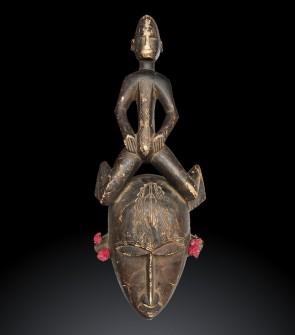 Maschera africana Bambara