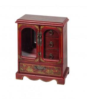 Vetrinetta cinese dipinta