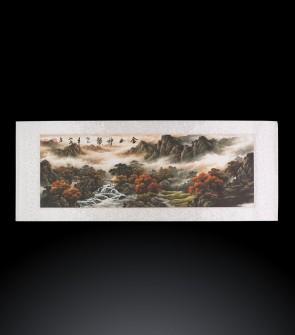 Dipinto contemporaneo cinese Paesaggio #4