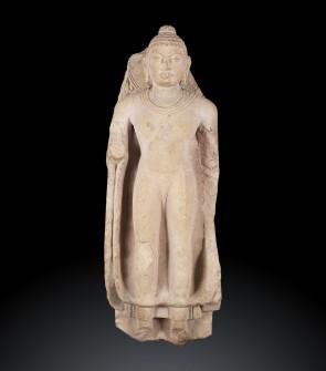 Scultura di epoca Gupta raffigurante Buddha