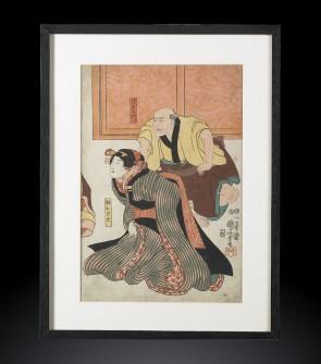 Ukyio-e, Antica stampa giapponese, Toiokuni III (1786-1864)