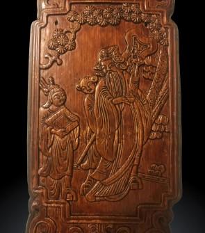 Antica Cina, pregiata chiusura e lucchetto originali